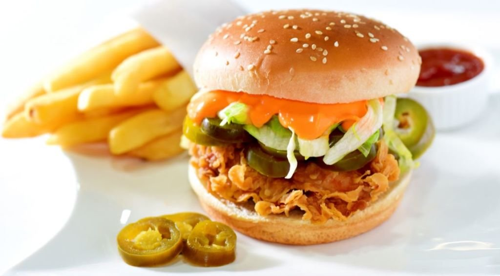 Top of the Town – The best fried chicken burger in Karachi